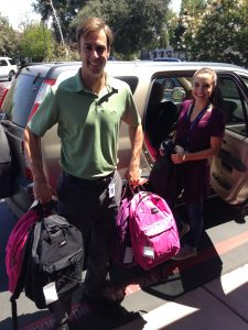 Thanks to Uplift Family Services Associate Director Darren DeMonsi for organizing the backpack drive each year!